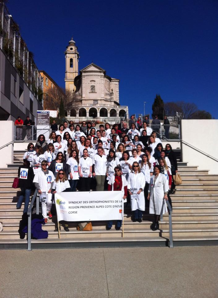Grève des orthophonistes du 04 février 2016